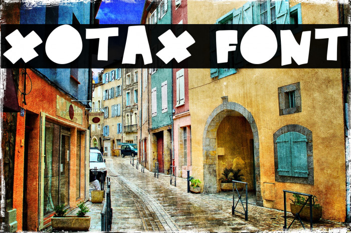 xotax Caratteri examples
