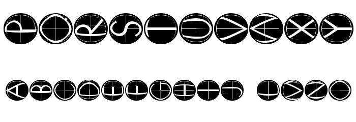 XperimentypoFourC RoundInvers 字体 其它煤焦