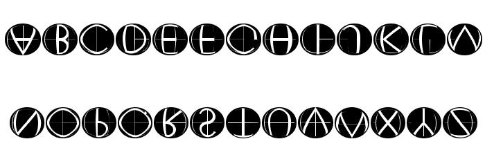 XperimentypoFourC RoundInvers 字体 小写