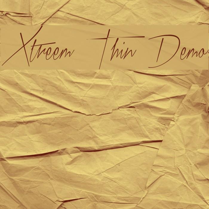 Xtreem Thin Demo Font examples