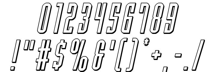 Y-Files 3D Italic फ़ॉन्ट अन्य घर का काम