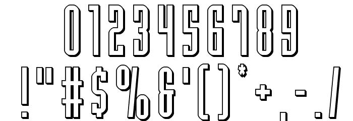 Y-Files 3D 字体 其它煤焦