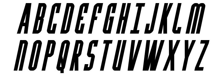 Y-Files Bold Italic 字体 大写