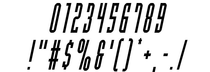 Y-Files Condensed Italic 字体 其它煤焦