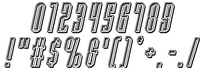 Y-Files Engraved Italic फ़ॉन्ट अन्य घर का काम