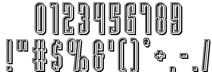 Y-Files Engraved फ़ॉन्ट अन्य घर का काम