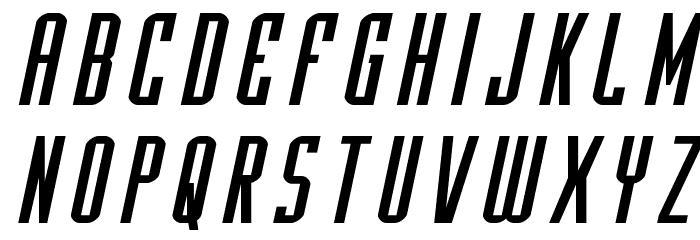Y-Files Expanded Italic फ़ॉन्ट लोअरकेस