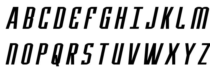Y-Files Extra-Expanded Italic फ़ॉन्ट अपरकेस