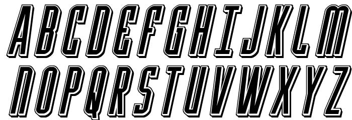 Y-Files Punch Italic Fonte MAIÚSCULAS