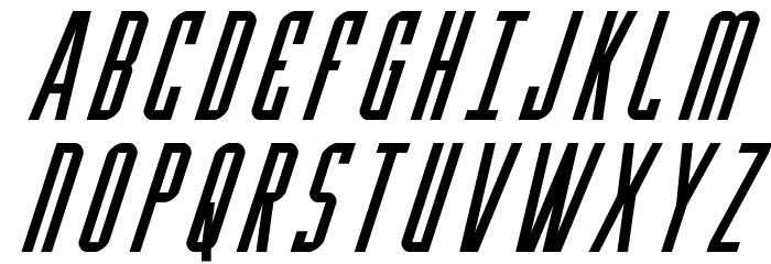 Y-Files Super-Italic Fonte MAIÚSCULAS