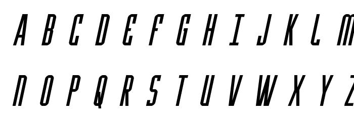 Y-Files Title Italic Fonte MAIÚSCULAS