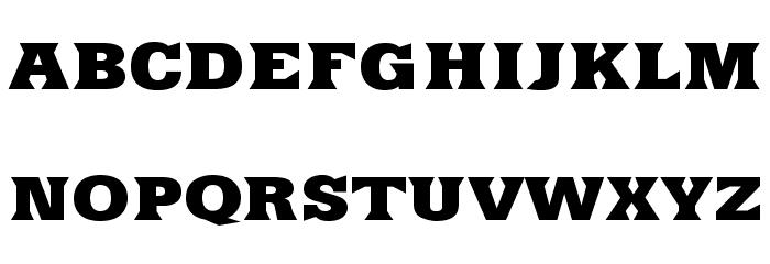 Yacimiento-ExtraBold 字体 大写