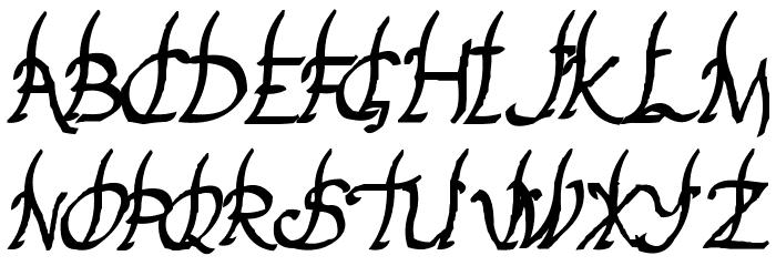 Yakap Font UPPERCASE