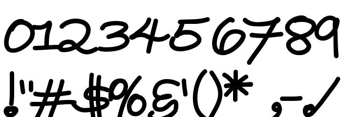 YBWrittenInTheStars لخطوط تنزيل حرف أخرى