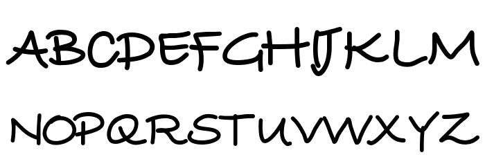 YBWrittenInTheStars لخطوط تنزيل الأحرف الكبيرة