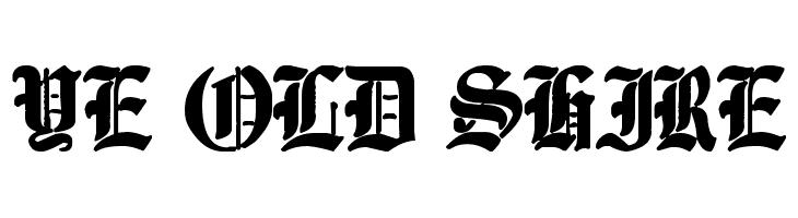 Ye Old Shire  Скачать бесплатные шрифты