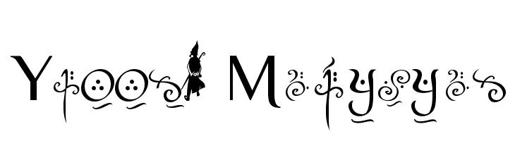 Yellow Magician  Скачать бесплатные шрифты