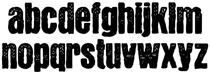 YnsectMoksha Schriftart Kleinbuchstaben
