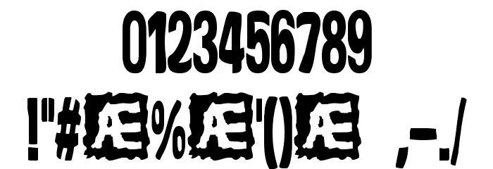 Yonder [BRK] Font OTHER CHARS