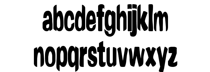 Yonder [BRK] Font LOWERCASE