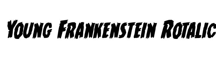 Young Frankenstein Rotalic  Descarca Fonturi Gratis