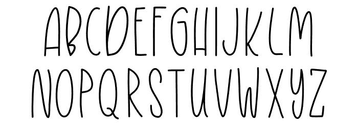 YoungerDreams لخطوط تنزيل الأحرف الكبيرة