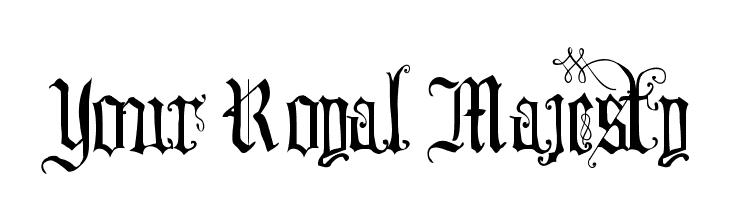 Your Royal Majesty  لخطوط تنزيل