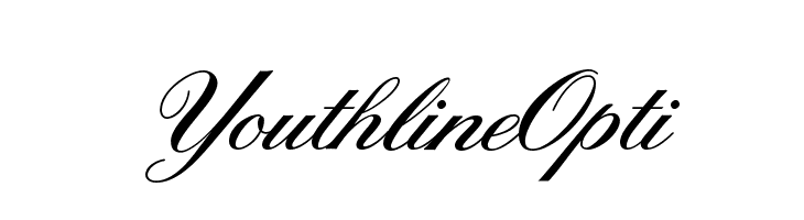 YouthlineOpti  Free Fonts Download