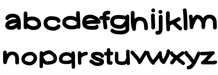 YUKAFONTSMILE Font LOWERCASE