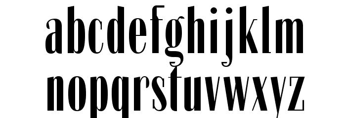 Zabatana-Poster Font LOWERCASE