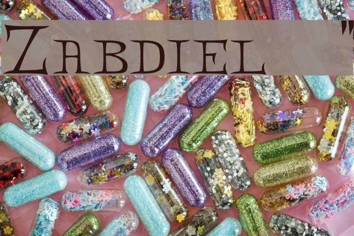 Zabdiel!` Polices examples