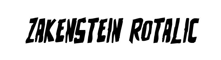 Zakenstein Rotalic  Fuentes Gratis Descargar