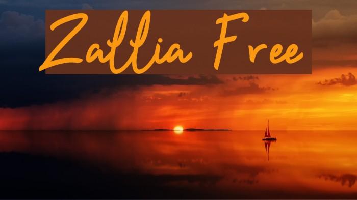 Zallia Free لخطوط تنزيل examples