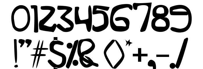 zatarireguler Font OTHER CHARS