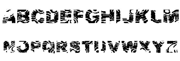 Zebra Ztripez Font Download Zebra 0 Font