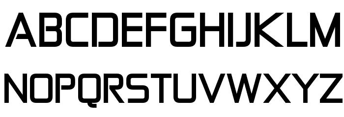 Zekton Bold Font UPPERCASE