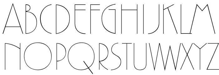 Zelda Font UPPERCASE