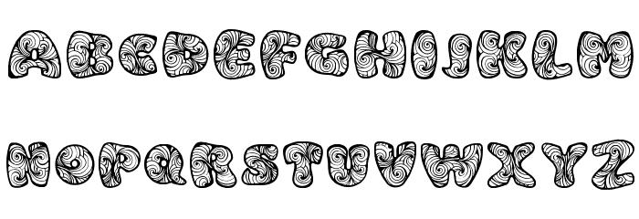 Zen3 Regular Fonte MAIÚSCULAS
