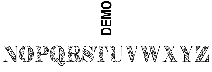 Zengo Demo Schriftart Anderer Schreiben