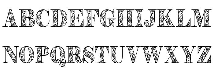 Zengo Demo Schriftart Kleinbuchstaben