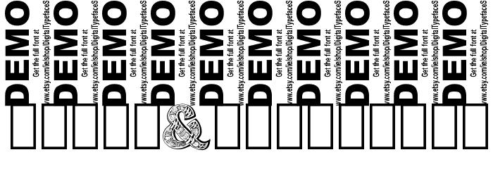 Zentyp Demo Regular Fonte OUTROS PERSONAGENS