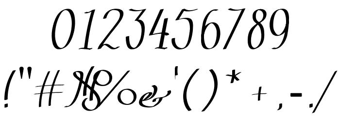 Zephiroth لخطوط تنزيل حرف أخرى
