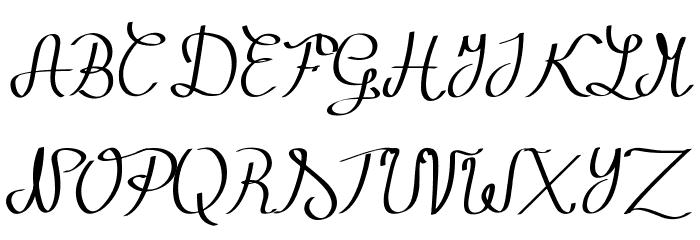 Zephiroth لخطوط تنزيل الأحرف الكبيرة