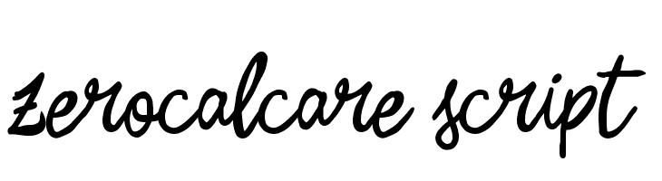 Zerocalcare Script  Скачать бесплатные шрифты