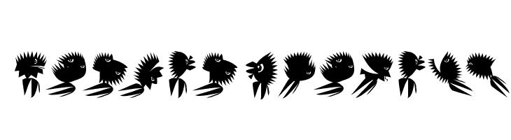 ZigzagAnimals  Скачать бесплатные шрифты