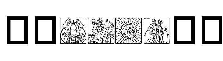 Zodiac03  Free Fonts Download