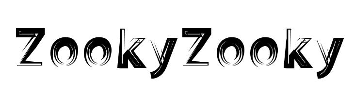 ZookyZooky  Скачать бесплатные шрифты