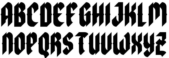 zoulsister plus eYe/FS Regular Font UPPERCASE