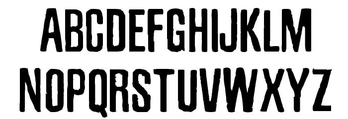 Zubajda Rg Font UPPERCASE