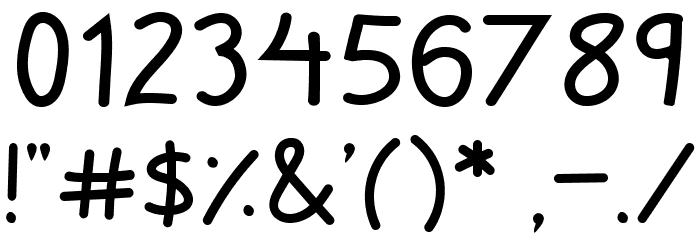 Zuey Handwriting Fonte OUTROS PERSONAGENS